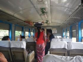 ミャンマー列車の旅